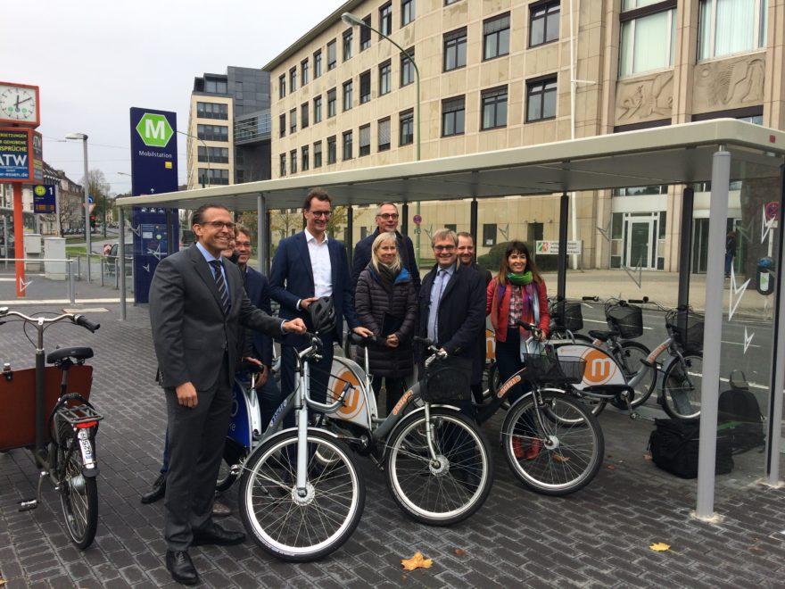 NRW Verkehrsminister Treffen Essen
