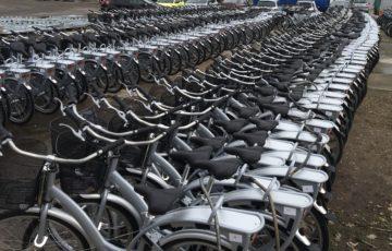 Fahrradparkplatz Produktion nextbike Leipzig
