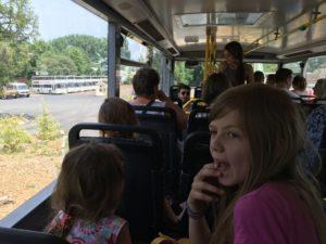 Mit dem Bus durch den Serengeti Park