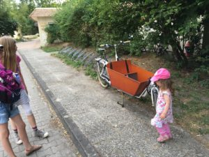 Das einzige Fahrrad an diesem Tag.