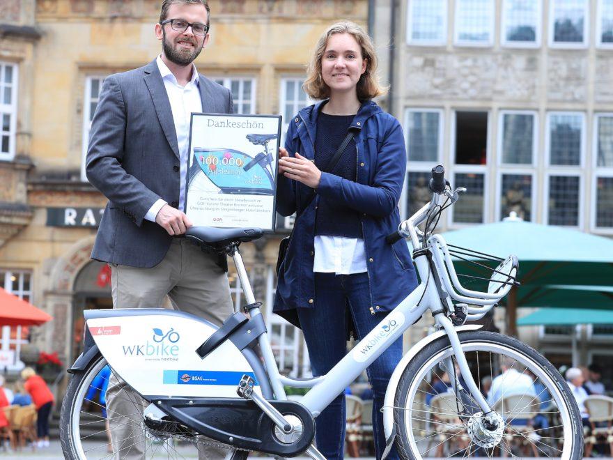 WK Bike 100.000 Ausleihe