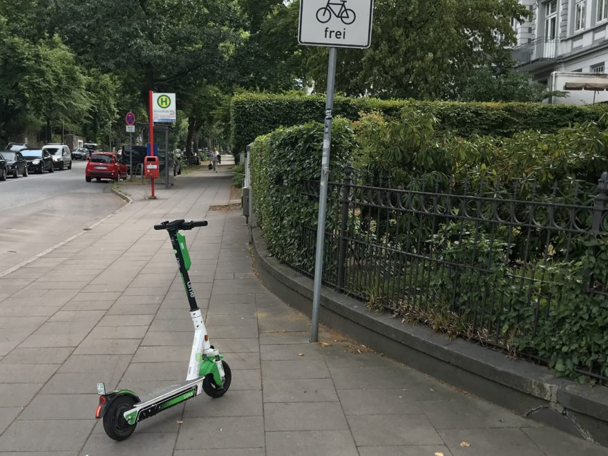 Verbot E-Scooter