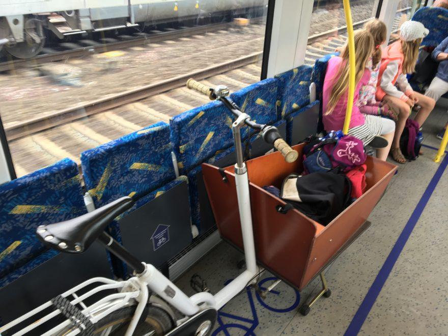 Fahren mit der Bahn Regio S Bahn