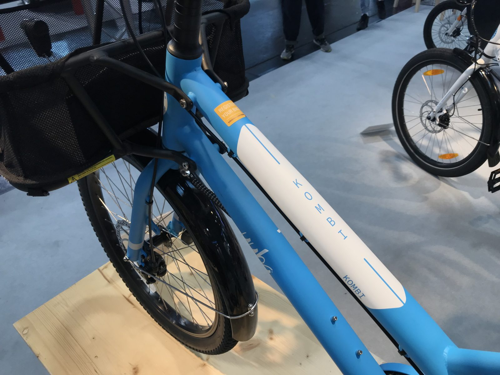 Yuba Bike von Oben