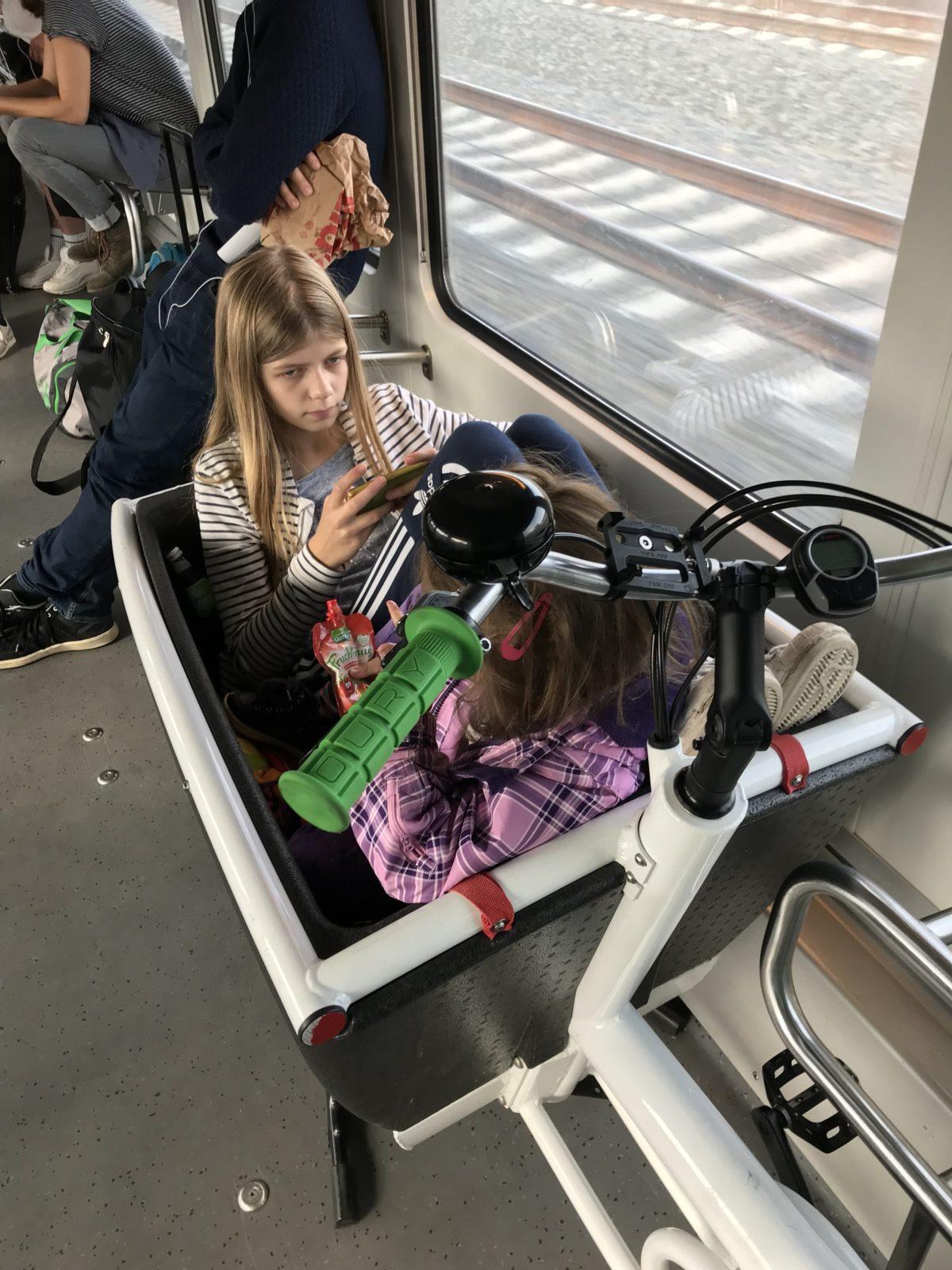 Lastenrad im Metronom