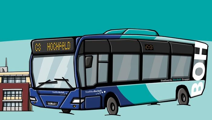Bus Bocholt